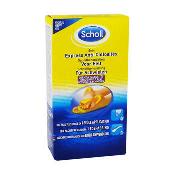 Scholl, Soin express anti-callosites, le tube de 50 ml
