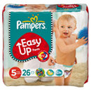 Pampers easy up junior midi pack change x26 taille 5