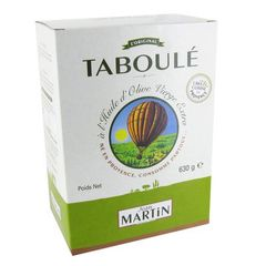Taboule a l'huile d'olive JEAN MARTIN, 630g
