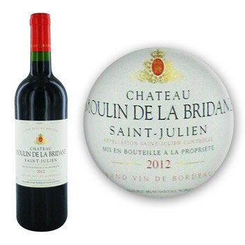 SAINT JULIEN - AOC : Château Moulin de la Bridane - Vin rouge