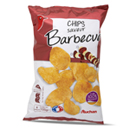 Auchan chips barbecue à l'huile de tournesol 135g