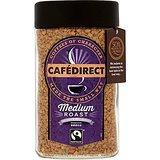 Cafédirect Fairtrade Medium Roast Freeze Dried Coffee 100g (Pack of 2)