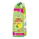 shampooing hydra-liss fructis 2x250ml