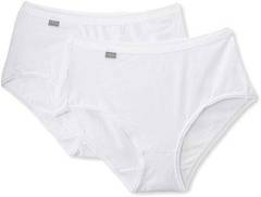 2 Slips midi Cotton PLAYTEX, blanc, taille 48