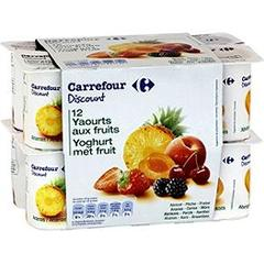 Yaourts aux fruits 12 x 125g