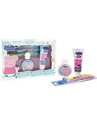 Peppa Pig Coffret Eau de Toilette 50 ml + 2 Brosses à Dents + Dentifrice