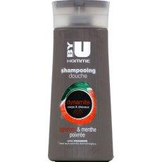 Shampooing-douche homme dynamite By U, flacon de 250ml