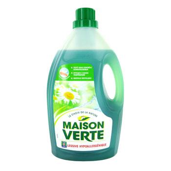 Lessive liquide hypoallergenique le choix de la nature tous les produits p - Maison verte lessive ...
