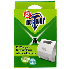 Pieges Insectivor Anti-mites alimentaires x2
