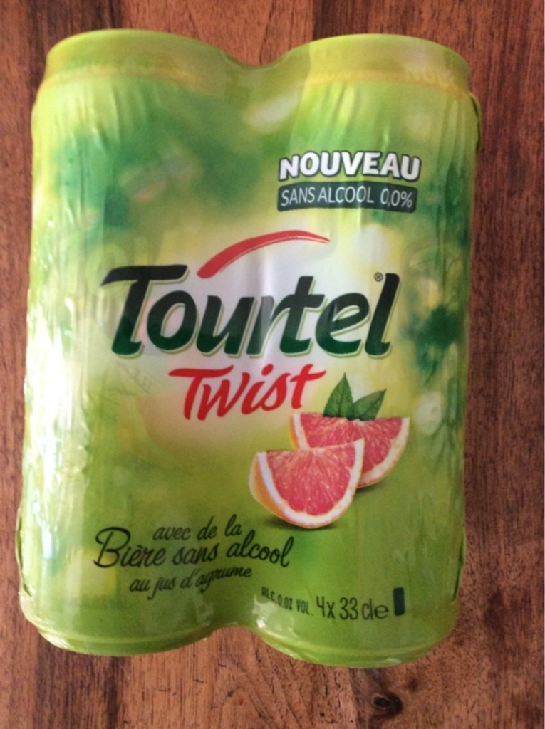Tourtel twist agrume 4x33cl 0.01%vol