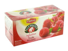 Elephant Infusion fruits rouges sachets x25 - 45g