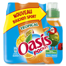 Oasis tropical push pull pet 6x25cl