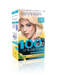 Garnier 100% Ultra Blond Coloration Permanante le Blond Platine