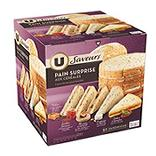 Pain surprise U SAVEURS, 50 sandwichs, 950g
