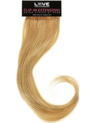 Love Hair Extensions - LHE/A1/QFC12/35G/18/24 - 100 % Cheveux Naturels - Maximum Volume - Barrette Unique Extensions...