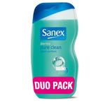 Sanex duche et bain pure clean 2x500ml