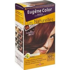 Coloration permanente EUGENE COLOR, chatain clair auburn n°56