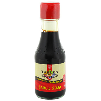 Sauce soja Tables du Monde 125ml