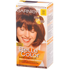 Coloration permanente BELLE COLOR, acajou n°50