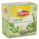 Lot de 2 paquets de The vert menthe intense 32 g