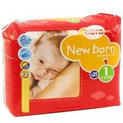 Cora change bébé new born 2/5kg x25