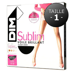 Collant T6 sublim voile brillant couleur gazelle