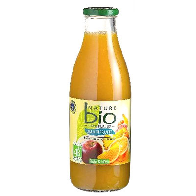 Cocktail de fruits bio