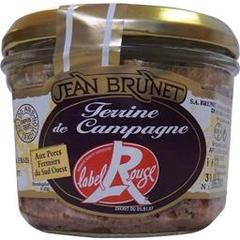Terrine de camapagne Label Rouge JEAN BRUNET, 180g