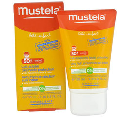 Mustela Lait Solaire SPF50 + Tube 100 ml - Lot de 2