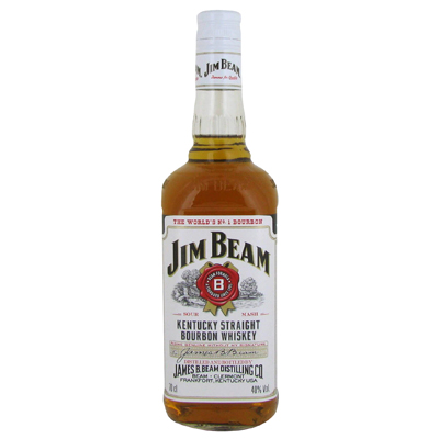 Bourbon JIM BEAM White, 40°, 70cl