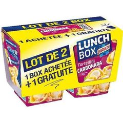 Lunch Box Torti Lustucru Pâtes Carbonara - 1 600g
