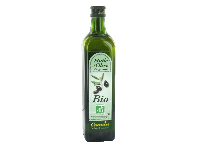Huile olive vierge extra Cauvin Bio 75cl