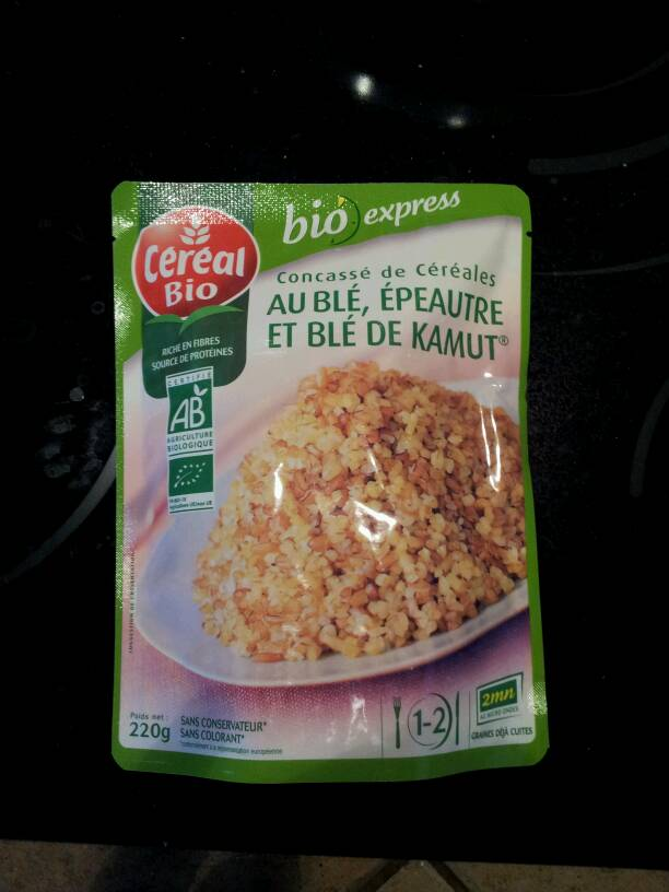 Bio c real concass de c r ales doypack 220g tous les - Plats cuisines sans gluten ...