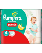 Culottes Pampers Baby Dry Pants Taille 4 Maxi 8-15 kg