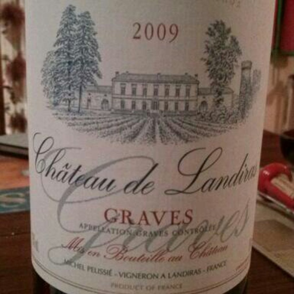 Graves 2010 - Chateau Landiras 75cl