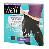 Collant opaque Well Accord parfait noir T1
