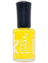 Miss Beauty London Soins des Ongles Jaune Fluo 12 ml