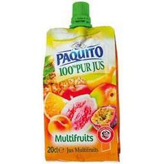 Pur jus multifruits, la gourde de 20cl