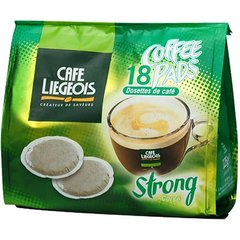 Cafe Liegeois - 9001 - 18 Dosettes Cafe Liegeois Strong 100% Arabica