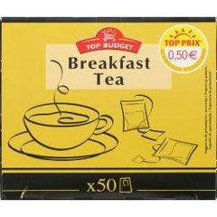 The noir, breakfast tea, la boite de 50 sachets - 100g
