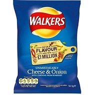 Walkers Crisps - Cheese & Onion (32.5g)