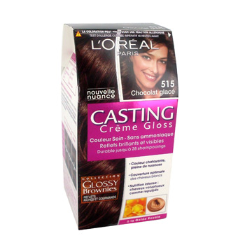 Coloration ton sur ton Casting Creme Gloss chocolat glace n°515