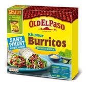 Old el paso kit burrito sans piment 501 g