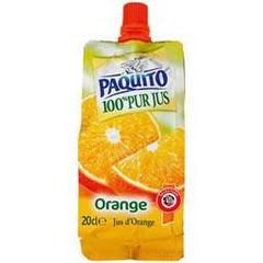 Pur jus orange, la gourde de 20cl
