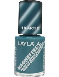 Layla Cosmetics Milano Vernis à Ongles Magneffect Artic Blue 10 ml