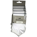 In Extenso lot de 4 paires de mini socquettes blanc t 43/46