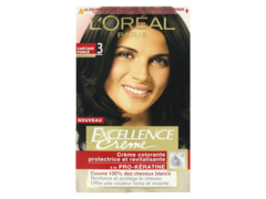 Coloration Excellence creme Chatain fonce n°3