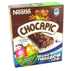 Nestle Chocapic barre 6x25g