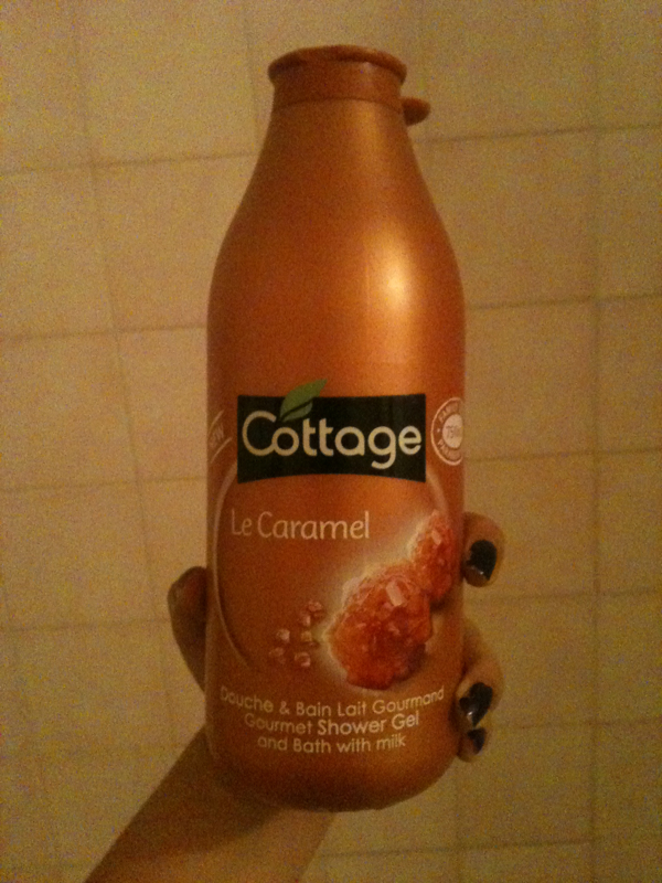 Cottage - Douche et Bain - Lait Gourmand - Le Caramel - - 750 ml - Lot de 2