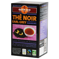 The noir bio Alter Eco Earl Grey Darjeeling 40g